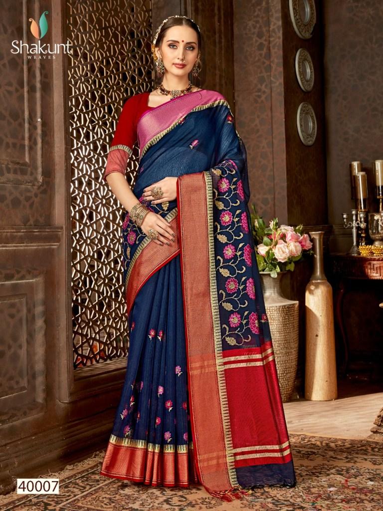 Shakunt weaves kanthkumari beautiful elegant sarees dealer