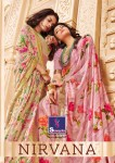 Shangrila nirvana floral printed fancy sarees collection