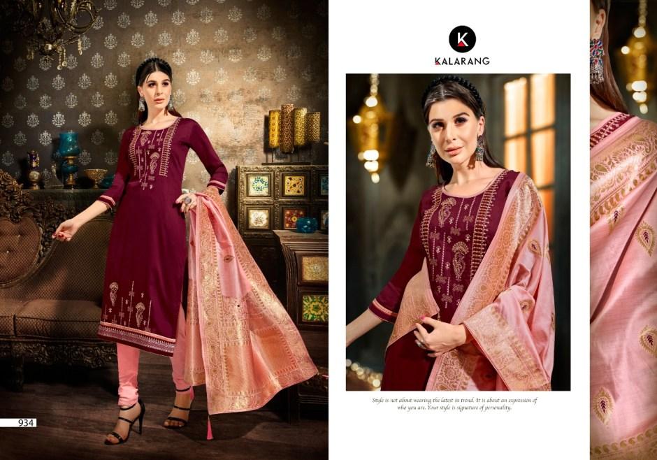 Kalarang creation albela vol 4 jam silk party wear dress Material exporter