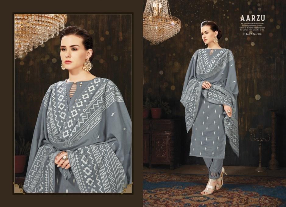 Kayvee suits aarzu pure cotton salwar kameez collection at wholesale rate