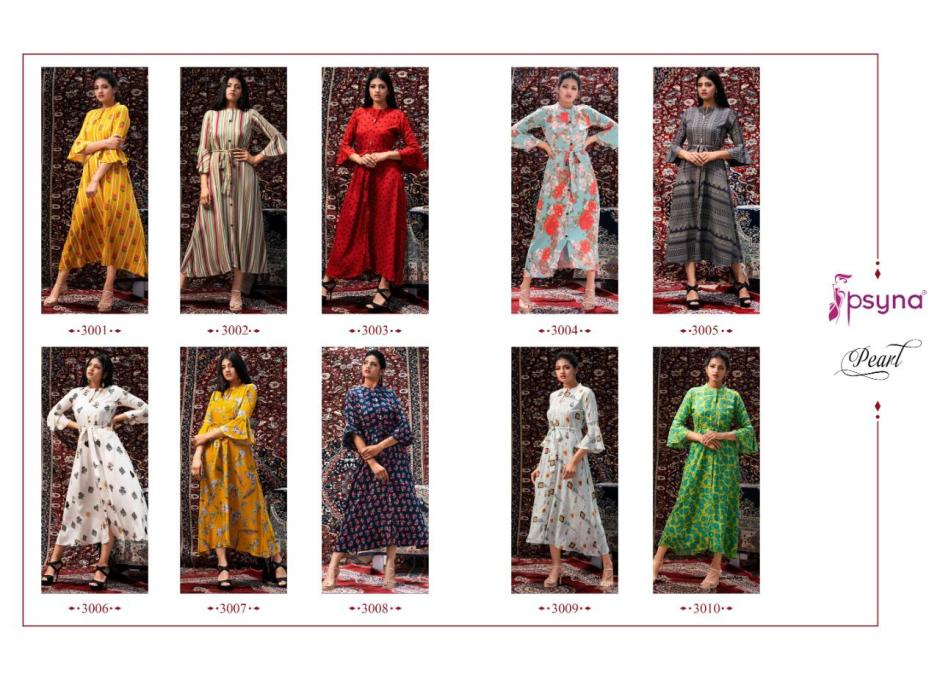 Psyna pearl vol 3 designer party wear fancy gown collection