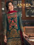 Shree fabs anaya vol 8 heavy embroidered pakistani salwar kameez collection
