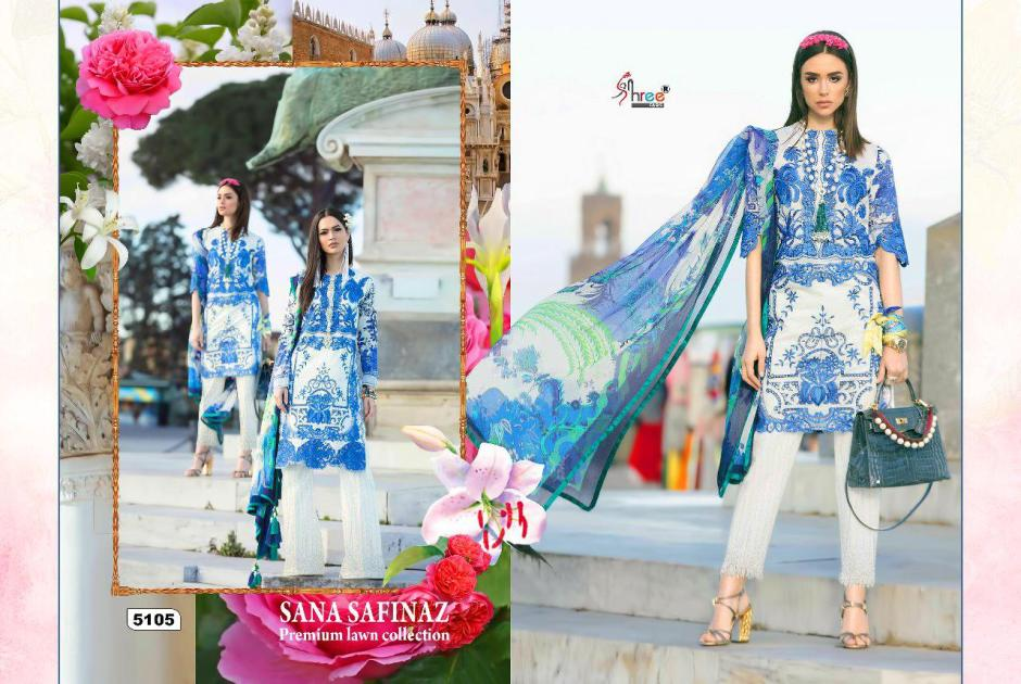 Shree fabs sana safinaz premium lawn pakistani salwar kameez collection