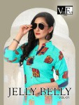 Vee fab jelly belly kurti with plazzo wear collection