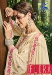 Alisa Flora exclusive collection of rich colors Salwar suit