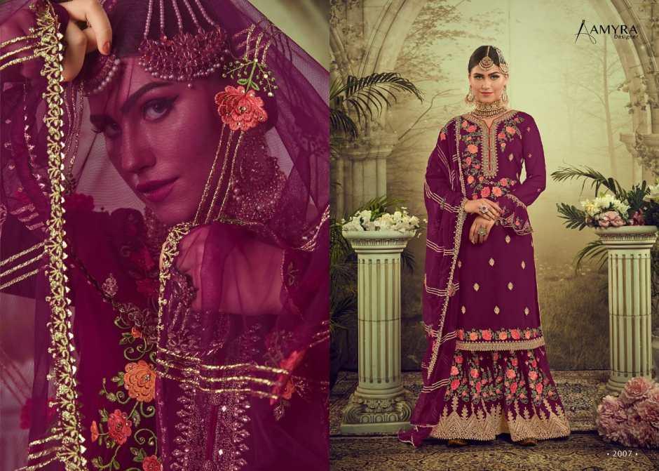 Amyra Designer Gulnaaz Vol 2 Embroidery Salwar Suit