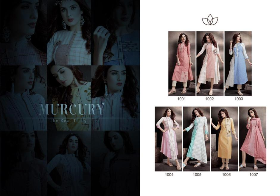 Evermore murcury cotton straight kurties collection dealer