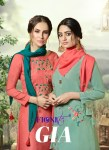Fionista gia exclusive collection of kurti with Gharara