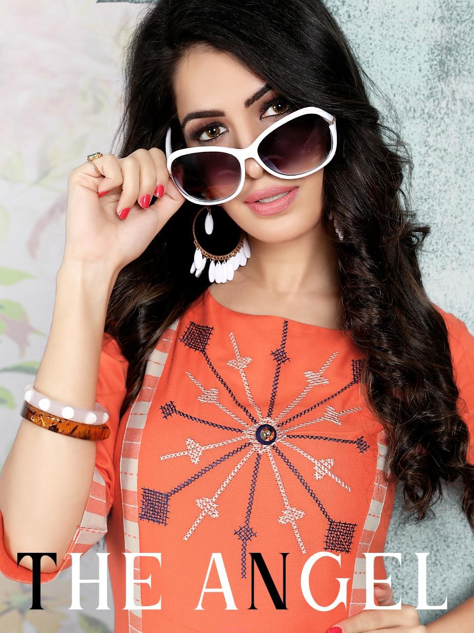 Manas fab presents anishka vol 2 beautiful kurti with plazzo concept