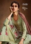 Omtex mira foil printed khadi cotton salwar kameez collection