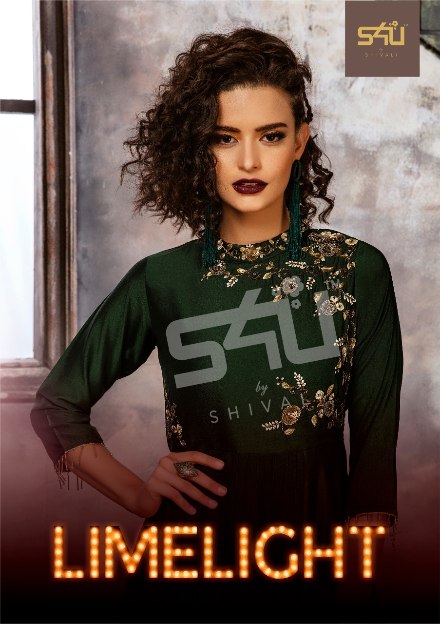 S4U limelight heavy party Wear Indo Western gowns collection