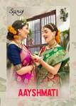 Saroj ayushmati banarasi silk festive wear sarees