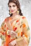 Shangrila Kadambari linen beautiful collection of colorful sarees