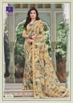 Shangrila nirvana 2 floral printed Jacquard festive wear saree's for women