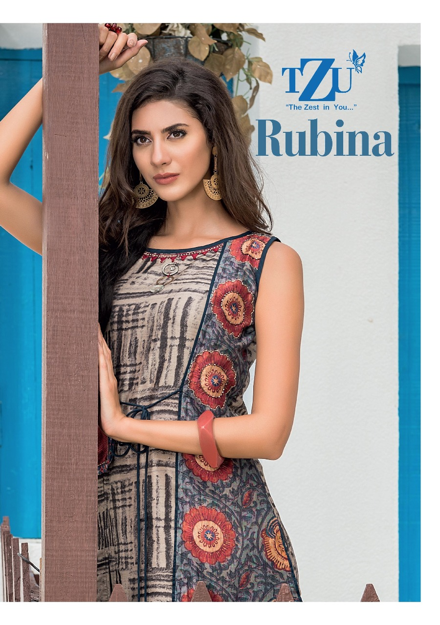 Tzu rubina long flair anarkali gowns collection at wholesale rate