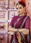 Vallabhai prints vidheya Beautiful fancy colorful saress
