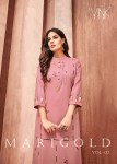 Vink marigold 2 premium kurti handwork collection