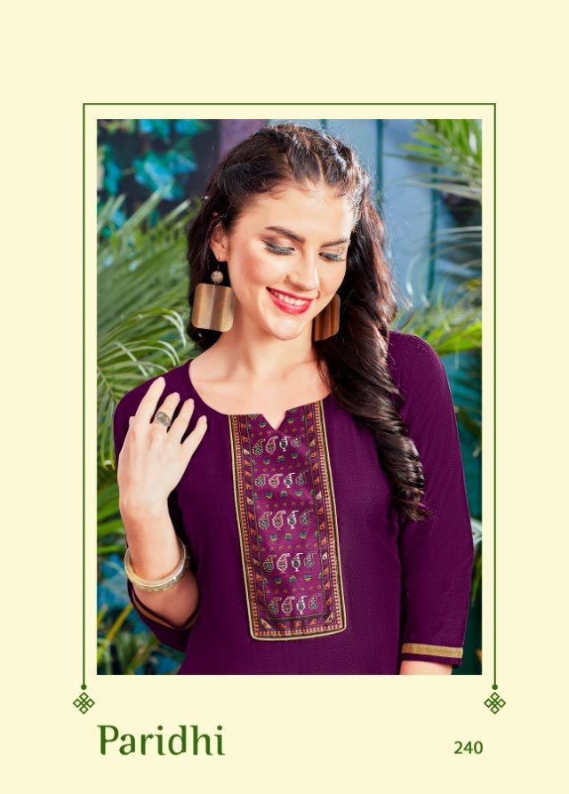 Psyna paridhi vol 24 collection of colorful Kurties