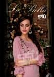 S4u by shivali la Bella party wear heavy muslin colourful long kurties collection