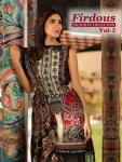 Shree Fabs Firdous exculsive collection vol 3 beautiful collection of Salwar suit