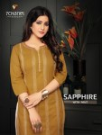 7 chanel sapphire cotton calssic trendy look kurti with pant catalog