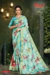 bansi fashion kavya satin exclusive print saree catalog
