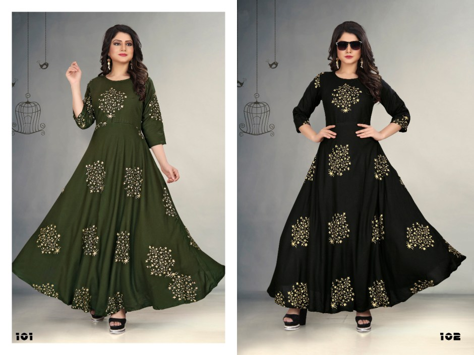 gallberry foil tree classy catchy look trendy fits gowns in attractive prices