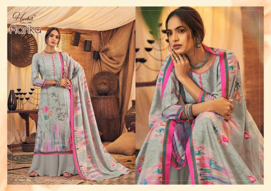 harshit fashion hub aarika exclusive print salwar suit catalog