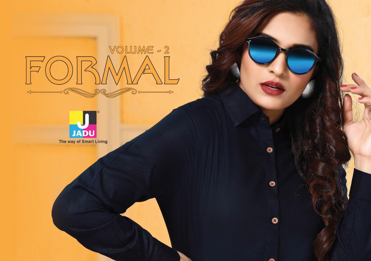 Jadu formal vol-2 stylish and beautiful shirts