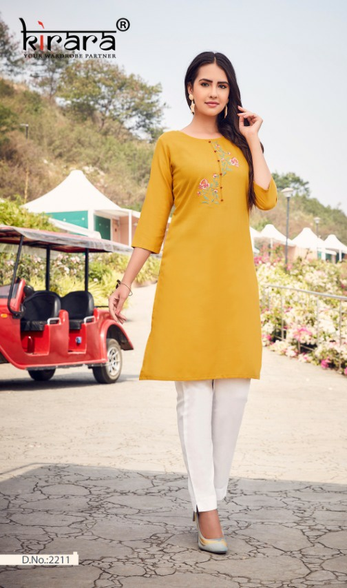 Kirara sui Dhaga vol 4 attractive and stylish cotton Embroidered Kurties