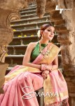 l t fashion simaaya Zari Tissue Silk authentic fabric sarees catalog