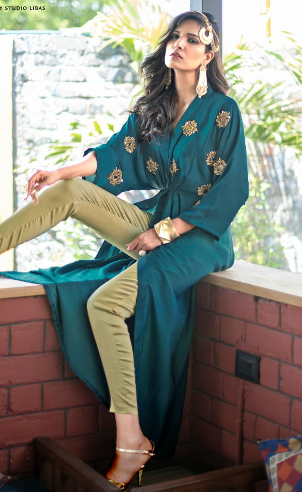 Libas Studio LPC 53 gorgeous stunning look attractive and stylish classy catchy look Western gowns