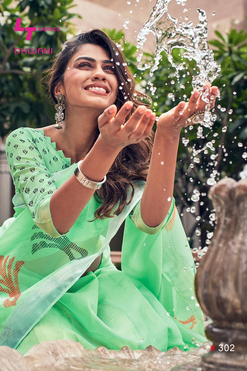 LT fashion Dhwani beautiful collection of sarres in wholesale prices
