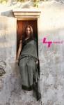 LT Fashion megha astonishing style linen silk with resham work Sarees