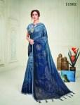 mahotsav 11502 -11515 series silk exclusive print saree catalog