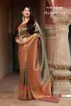 Manjubaa clothing mahima silk charming look sarees in wholesale price