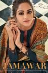 Mumtaz arts rangon ki duniya jamawar pashmina decent kashmiri embroidery salwar suit catalog