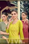 Nitisha Nx Viva vol 4 attractive and stylish classy catchy look Kurties