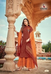 PARRA STUDIO - RASAM TOP WITH SARARA DUPATTA