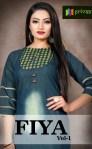 Privaa Fiya vol 1 gorgeous stunning look classy catchy look Kurties
