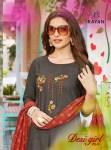 r studio desi girl  rayon decent look kurti with bottom catalog