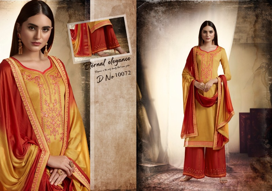 Ramaiya poshak elegant look beautifully designed Salwar suits in wholesale prices