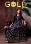 S4U gold gowns elegant look festive collection Gowns