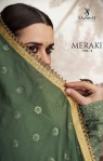 Sajawat Creation meraki vol 2 gorgeous stunning style faux Georgette butterfly net party wear full stitched Wedding gowns