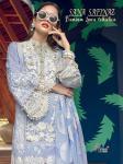 shree fabs sana safinaz premium lawn collection cotton regal look salwar suit catalog