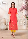 Stree-the Woman Sangeet vol-7 classy catchy look Kurties in wholesale prices
