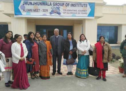 JHUNJHUNWALA GROUP CELEBRATING IT'S 25 YEAR OF SUCCESS