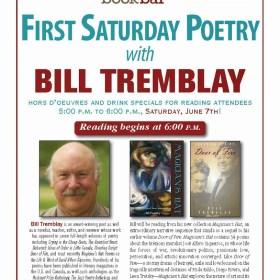 Bill Tremblay Reading from Magician's Hat at BookBar June 7th