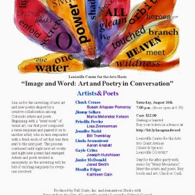 "Join Us in Louisville on August 16th for ""Image and Word"""