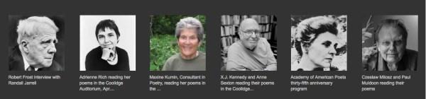 libraryofcongresswriterrecordings